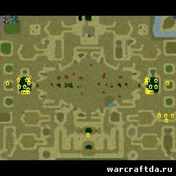 карта арена World of Angel Arena 2014 v14.1c AI для warcraft